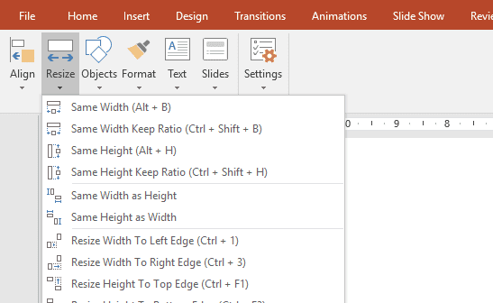 powerpoint shortcut keys