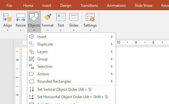 powerpoint shortcut